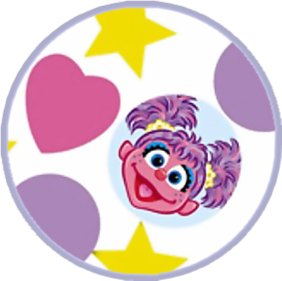 Abby Cadabby edible image cake sticker